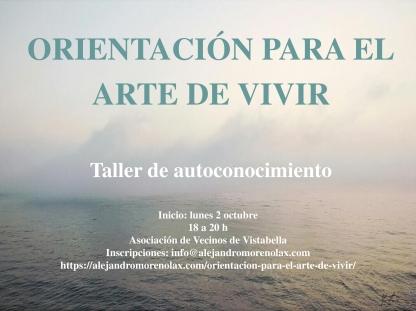 Cartel Arte Vivir Vistabella 2017 2
