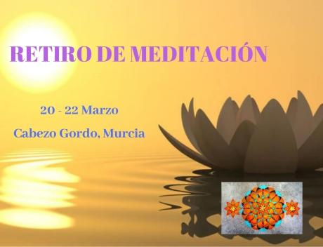 RETIRO DE MEDITACIÓN primavera 20