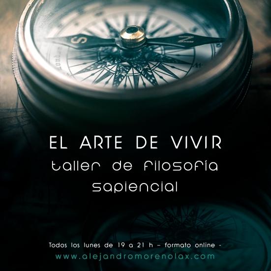 cartel arte vivir